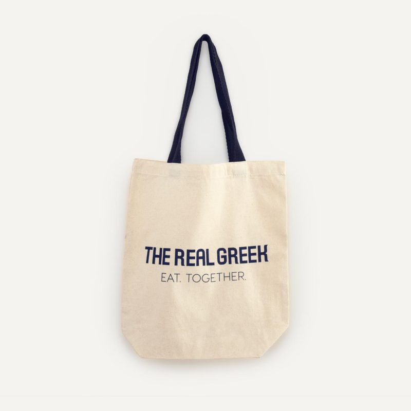 The Real Greek Canvas bag